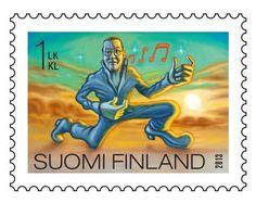 Huusseja ja hulluja suomalaisia esitellään postimerkeissä   Vantaan Sanomat Postage Stamps, Finland, Movie Posters, Film Poster, Popcorn Posters, Stamps, Film Posters, Posters