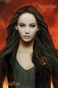 Katniss as I imagined her