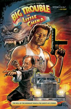 Preview: Big Trouble in Little China Vol. 1 TP,   Big Trouble in Little China Vol. 1 TP Story: Eric Powell & John Carpenter Art: Brian Churilla Cover: Eric Powell Publisher: BOOM! Studios ...,  #All-Comic #All-ComicPreviews #BigTroubleInLittleChina #Boom!Studios #BrianChurilla #Comics #EricPowell #JohnCarpenter #Previews