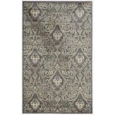 @Overstock - A contemporary color palette of blue, grey, white and yellow infuses a traditional damask design with an air of relaxed refinement. With gorgeous hand carving and high-low loop pile construction, this stunning area rug feels as lush as it looks.http://www.overstock.com/Home-Garden/Graphic-Illusions-Paisley-Multi-Grey-Pattern-Rug-36-x-56/7108627/product.html?CID=214117 $80.74