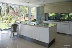 floor to ceiling windows in kitchen - Google Search