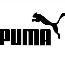 Puma logo sticker.