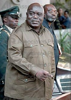 Laurent- Desiré Kabila was President of the Democratic Republic of the Congo from May 17, 1997, when he overthrew Mobutu Sese Seko, until his assassination by one of his bodyguards on January 18, 2001. He was succeeded by his son Joseph eight days later.