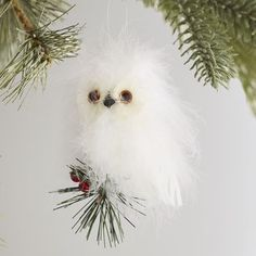 Feather Owl Ornament | Pier 1 Imports