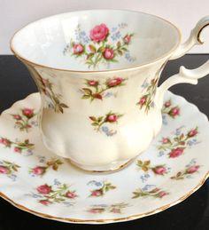 Royal Albert, Inglaterra, 'Windsome', taza de café, 1966 - 2001