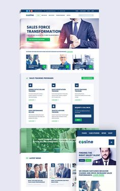 Cosine - Training Coaching & Business HTML Template (Business)