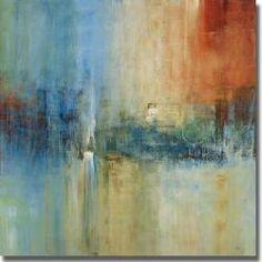 Simon Addyman 'Blue Cascade' Canvas Art | Overstock.com Shopping - The Best Deals on Canvas
