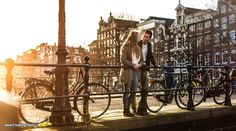 Loveshoot Daan and Lieke in Amsterdam | http://www.trouwdaginbeeld.nl