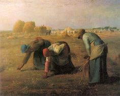 The Gleaners, Jean-françois Millet, Musee D'Orsay, Paris