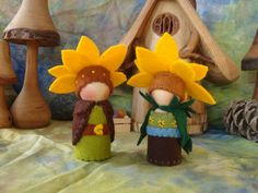 """The sweetest little Gnomes come from Brandy at """"Painting Pixie""""."""