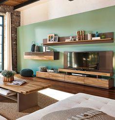 Moderne Wohnwand mit Hochglanzfronten ♥