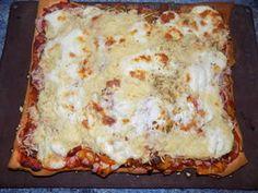 Maxi-pizza chorizo/poivrons