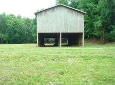 Our tobacco barn 32 x 84 - (8 acres)