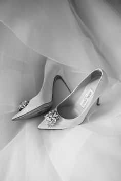 Jeweled Jimmy Choo wedding shoes: http://www.stylemepretty.com/canada-weddings/british-columbia/osoyoos/2016/05/23/this-vineyard-wedding-maruqee-proves-love-is-all-you-need/ | Photography: Christie Graham Photography - http://www.christiegrahamphotography.com/