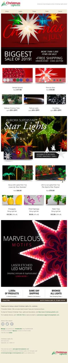 Design 06 of Christmas In July, Christmas Lights, How To Find Out, Free, Design, Christmas Fairy Lights