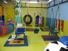 Autism Therapy Sensory Gym Therapy Ot Pt Ideas Games