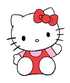how to draw hello kitty characters