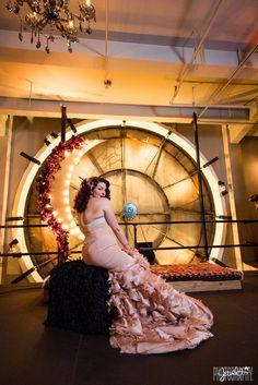Denver Clock tower wedding, denver wedding photography, downtown denver, edgy denver wedding, custom wedding dress, clock tower events, bride