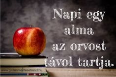 Nagyon is igaz: napi egy alma az orvost távol tartja. Apple, Fruit, Food, Apple Fruit, Essen, Meals, Yemek, Apples, Eten