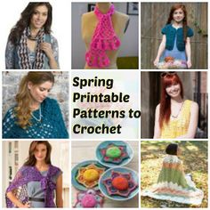 Spectacular Spring Printable Patterns to Crochet Today