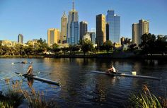 ROWERS TRAIN AT DAWN ON THE YARRA RIVER IN MELBOURNE 1. Melbourne, Australia, is the most livable city in the world, according to the latest annual ranking from The Economist Intelligence Unit. The ranking considers 30 factors, ranging from safety to infrastructure, across 140 cities.