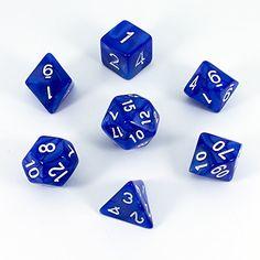 Paladin Roleplaying Dice Set, Pearl Effect, Blue Paladin ... https://www.amazon.com/dp/B017MRC7RC/ref=cm_sw_r_pi_dp_t4CCxb96BPMDJ