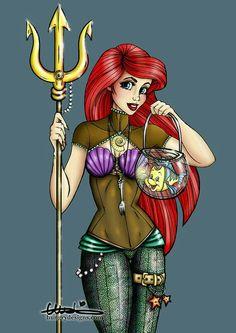Ariel Steampunk