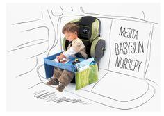Lo mejor para viajar con niños en coche, productos prácticos originales y de calidad. Babysun