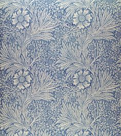 """pre-raphaelisms: """" William Morris, Marigold wallpaper design, 1875 """""""