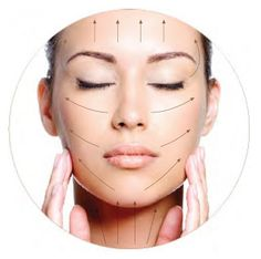 face lifting massage for the smile lines!! I should start trying that...