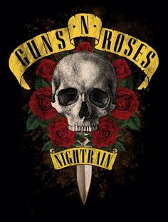 Slash is a British musician best known for being the lead guitarist of the rock band, Guns N' Roses. Guns And Roses, Guns N Roses Shirt, Tatuagem Guns N Roses, Rockband Logos, Roses Quotes, Rock Band Posters, Digital Foto, Band Wallpapers, Pochette Album