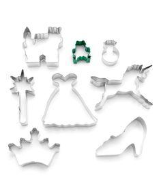Princess Eight-Piece Cookie Cutter Set