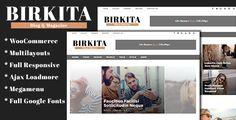 Birkita - WordPress Blog and Magazine Theme - Blog / Magazine WordPress Download here: https://themeforest.net/item/birkita-wordpress-blog-and-magazine-theme/19851253?ref=classicdesignp