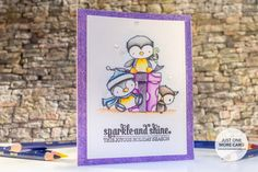 VIDEO: Inktense Pencil Coloring with Purple Onion Designs
