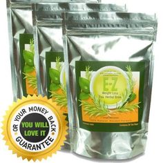 Easy E-Z Herbal Weight Loss Tea - Natural Weight Loss, Body Cleanse and Appetite Control. Proven Weight Loss Formula