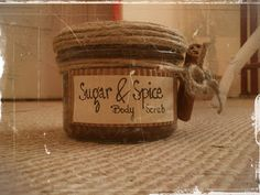 totally home made sugar scrub