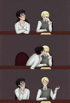 I am there for you 100% Drarry (DracoXHarry) Love your Doujinshi's!
