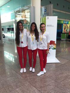 Nuestras azafatas en el aeropuerto para la presentación del nuevo Seat Ibiza  #eventhunters #azafatas #azafatos #imagen #eventos #seat #seatIbiza #Ibiza #portaventura #presentación #grouplead #Barcelona #insideibiza