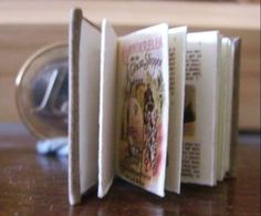 tutorial to make a miniature book in a word document