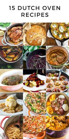 15 dutch oven recipes | http://simplywhisked.com  recipe roundup