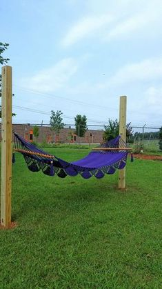 Poles Used for Hammock and Clothesline