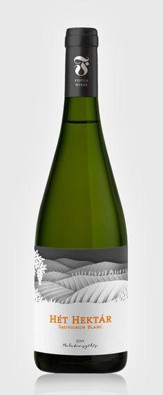 FIGULA label design / 2012 by Dora Novotny, via Behance