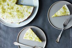 Pistachio Cake with Lemon, Cardamom, and Rose Water, a recipe on Food52