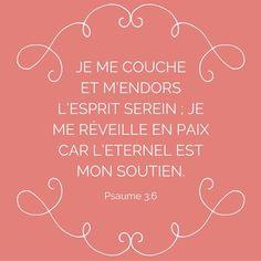 Ton Dieu ne dort pas, il veille sur toi! #VersetDuJour #repos #confiance