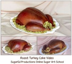 roast turkey video- SugarEd Productions