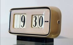 Vintage Alarm Clocks, Flip Clock, Industrial Design, Decor, Decoration, Industrial By Design, Decorating, Deco