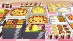 anime food 2017 kira kira precure a la mode precure bento pizza donuts cakes tabesugi.tumblr.com