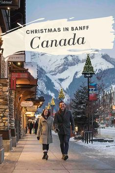 travel idea canada Christmas in Banff National Park is a magical experience. In addition to conquering the snow capped Rockies, theres a castle to explore, sleigh rides and loads of alfresco adventures to put you in the holiday spirit. Canada Christmas, Christmas Travel, Holiday Travel, Winter Travel, White Christmas, Christmas Things, Christmas Holiday, Quebec, Bergen