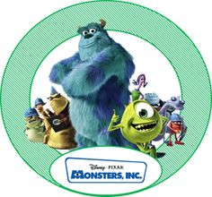 Free Monster's Inc Party Ideas - Creative Printables