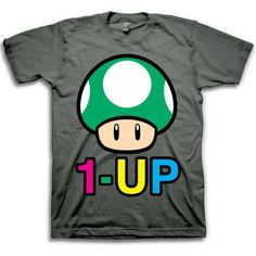 Nintendo 1-Up T-Shirt, $19, now featured on Fab.